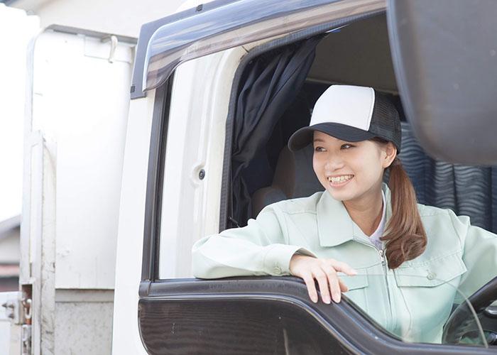 女性ドライバー
